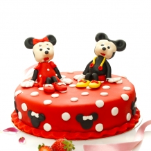 Tort Minnie si Mickey Mouse