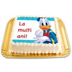 Tort cu poza Donald Duck