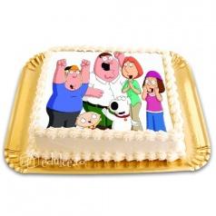 Tort cu poza Family Guy