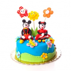 Tort Minnie si Mickey Mouse 2
