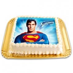 Tort cu poza Superman