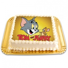 Tort cu poza Tom si Jerry