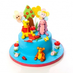 Torturi pentru copii Tort Winnie the Pooh 2